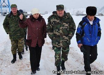 Усть-Кабырза готовится к паводку